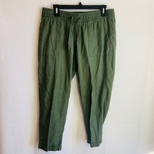 Old navy army green casual pants
